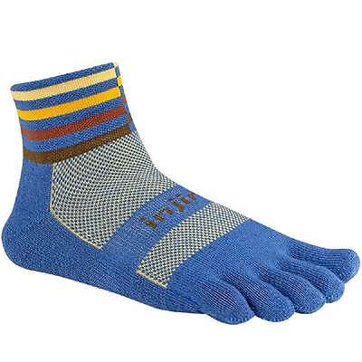 Injinji Socks Trail Midweight Mini Crew Running Socks Desert