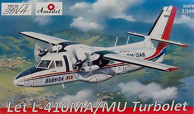 "LET L-410 MA/MU Turbolet"", 1:144, Plastikmodell, deutsche Version NEU"