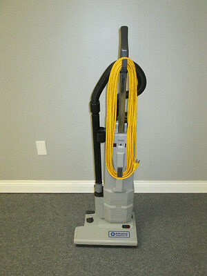 Advance CarpeTwin 14 Commercial Upright Vacuum Cleaner w/ New Brush Roller, etc.