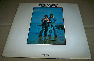 ISHMAEL & ANDY - Ready Salted - RARE Folk Gospel LP - MYRRH GOLD, 1973, UK -- EX