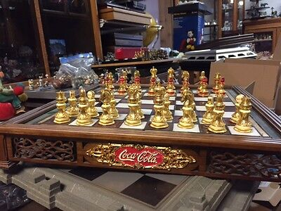 Coca Cola Chess Set