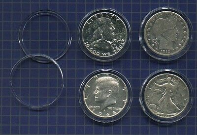Genuine  AIR-TITE Coin Holders for  Barber Liberty Franklin Kennedy Half Dollars