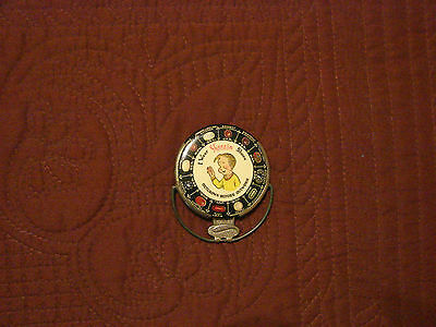 1920s Advertising Pocket Mirror from SKEEZIX Shoes - Rare model with handle