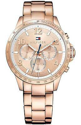 Tommy Hilfiger Women's Rose Gold Tone Watch 1781642