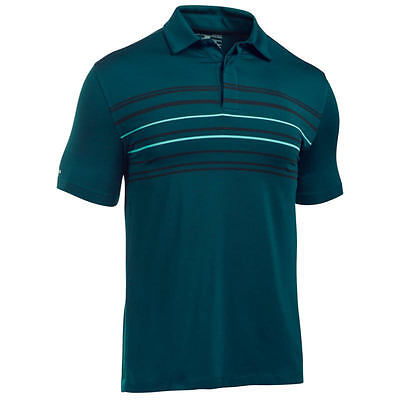 Under Armour Mens Jordan Speith ColdBlack Approach Golf Polo Shirt Large RRP £65
