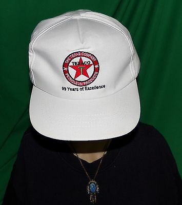 Vintage Texaco Hat, 99 Years of Excellence in Petroleum Products Embroidered hat