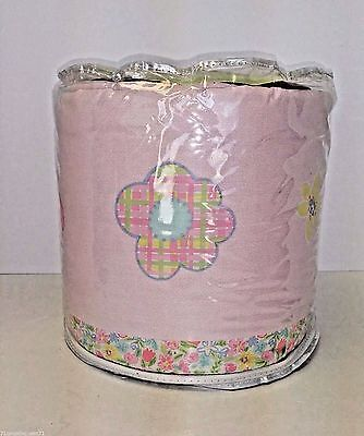 Circo Baby Crib Bumper Pink Green Blue Girl Print New