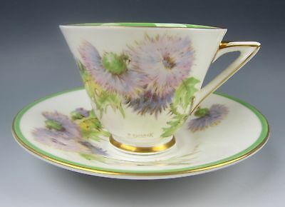 Royal Doulton China GLAMIS THISTLE Cup & Saucer Set(s) EXCELLENT