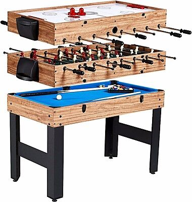 Combination Game - Table Billiards, Slide Hockey, and Foosball / Table Soccer