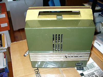 VINTAGE SILWA DUO Super 8mm FILM MOVIE PROJECTOR Model 30207