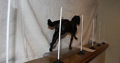 Pole Bending Set ~ 1:9 Scale for Traditional Breyer Model Horses. LSQ