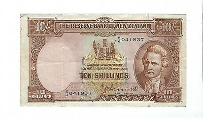 New Zealand -  Ten (10) Shillings
