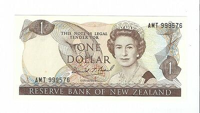 New Zealand -  One (1) Dollar, 1989-92  !!UNC!!