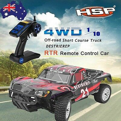 HSP 94170 Car 1/10 Scale ESC 2.4G Radio 4wd Off Road Rally Short Course Truck RC