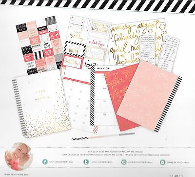 Heidi Swapp Memory planner kit Make it happen 144pce 314883 scrapbooking