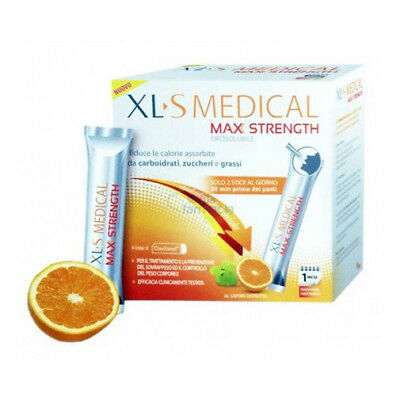 Xls medical max strength 60 stick bustine