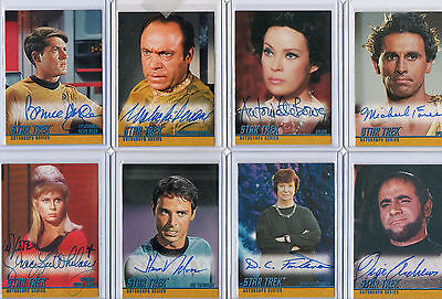 Star Trek TOS The Original Series Autograph Card Selection NM Skybox Rittenhouse