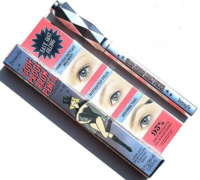 Benefit Goof Proof Brow Pencil In Shades 2 & 6 - From Only £4.99 Free Post !!!