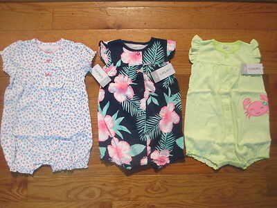 3 piece LOT of Baby Girl Spring/Summer clothes size 12 months NWT