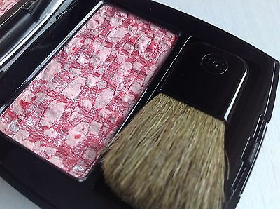 Chanel Les Tissages De Blush Duo Tweed Effect 110 Tweed Cherry Blossom 2017 New