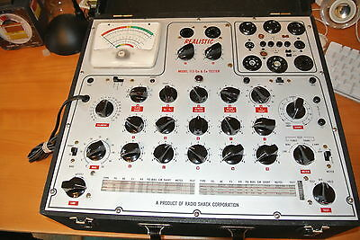 Realistic Professional Mutual Conductance Tube Tester - Serviced & Calibrated