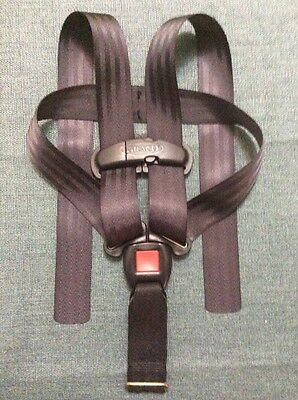 Graco Snugride 20 30 baby car seat Black replacement straps buckle harness