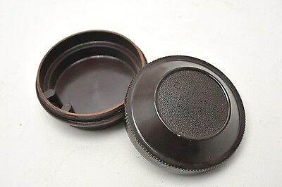 Leica Leitz Bakelite Case for 2.8cm & 3.5 cm lenses