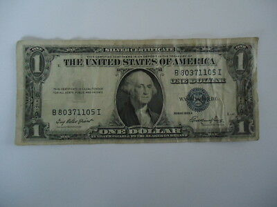 1935 One $1 Dollar Silver Certificate Note VG-Fine Old US Currency