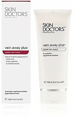 Skin Doctors Spider Veins Away Plus Cream Broken Capillaries - 100ml