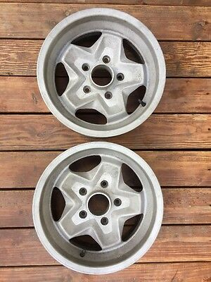 (2) 7Jx15 ATS Cookie Cutter RIMS Factory PORSCHE 911 SC 911S WHEELS 7 X 15""