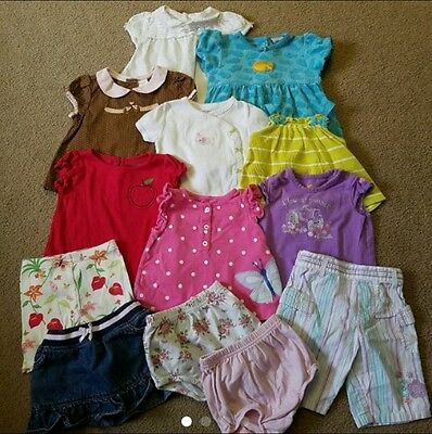 Baby Girl Summer Clothes Lot Size 9 Months