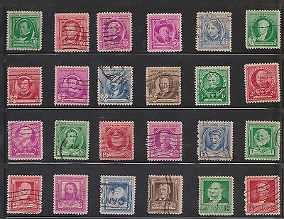 (U20-5) 1910-90 USA mix of 79stamps value to $5 (E)