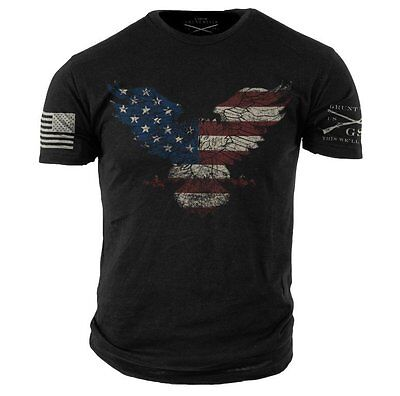 FREEDOM EAGLE-Grunt Style graphic t-shirt