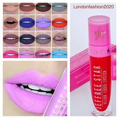 Jeffrey Star Velour Liquid Matte Waterproof Matte Liquid Lipstick