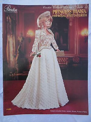 1894 Christmas Shopper Outfit for Barbie Doll Paradise Vol 18 Crochet Pattern