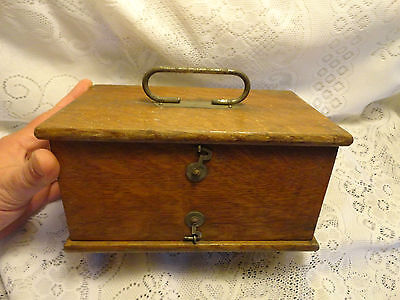 Antique No. 5 D. D. Home Medical Apparatus, Shock Therapy in DoveTailed Wood box
