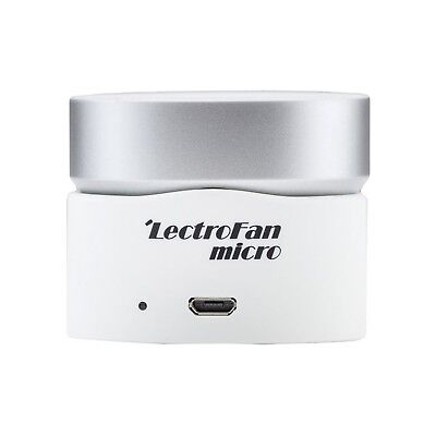 LectroFan Micro Wireless Sleep Sound Machine and Bluetooth Speaker with... , New