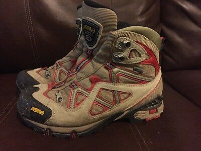Asolo Attiva GTX Boots Women Size 7 Hiking Outdoors Shoes