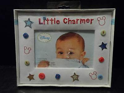 "Picture Frame Baby Little Charmer infant Nursery Home Decor  6""x4"" Photo Disney"