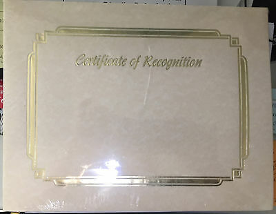 Certificate of Recognition Natural Parchment Paper 8-1/2 x 11 100/pack