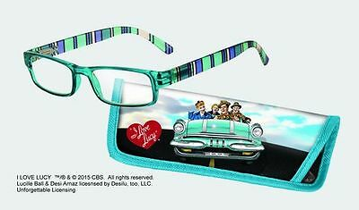 Spoontiques Reading Glasses w/  Matching Case I Love Lucy