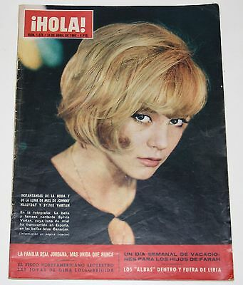 HOLA #1078 1965 Sylvie Vartan Pattie Boyd Beatles Kennedys Miss Nations magazine