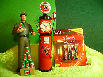 Red Tokheim 850 Diecast Replica Gas Pump Bank *  Authentic Sinclair Graphics
