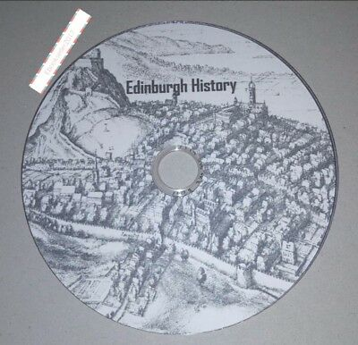 Edinburgh History 100 ebooks on 1 disc in PDF & Kindle Format for PC & Kindle
