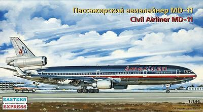 Eastern Express 1/144 McDonnell Douglas MD-11 American Airlines Civil Airliner