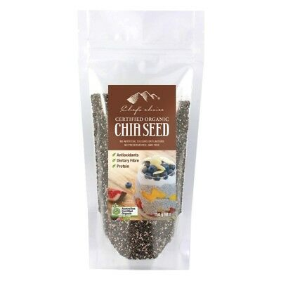 Chef's Choice Organic Black Chia Seeds 150g