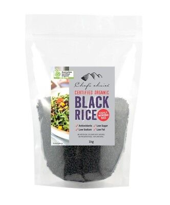 Chef's Choice Certified Organic Black Rice 1kg