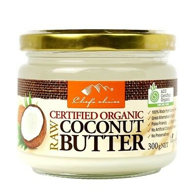 Chef's Choice Raw Organic Raw Coconut Butter 300g