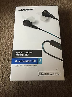NEW QC20i - Bose QuietComfort 20 Acoustic Noise Cancelling® headphones for Apple