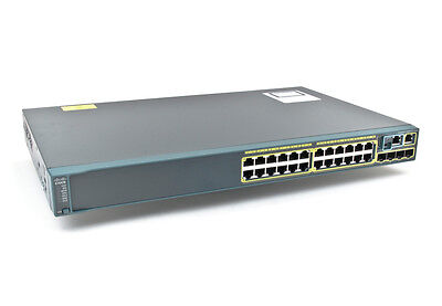 Cisco  Catalyst (WS-C2960S-24TS-L) 24-Ports Rack-Mountable Switch Stack Card